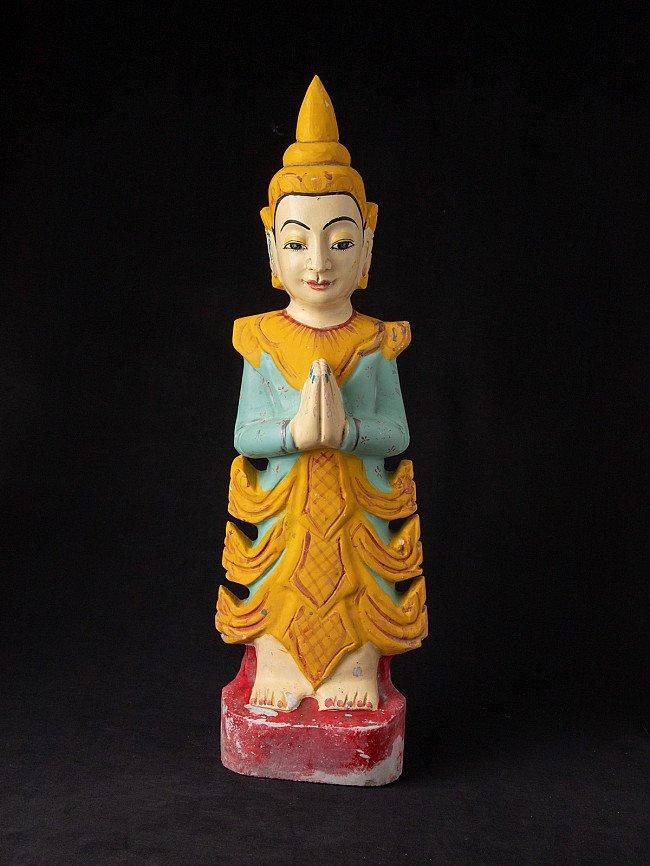 Alte Birmanische Nat Figur