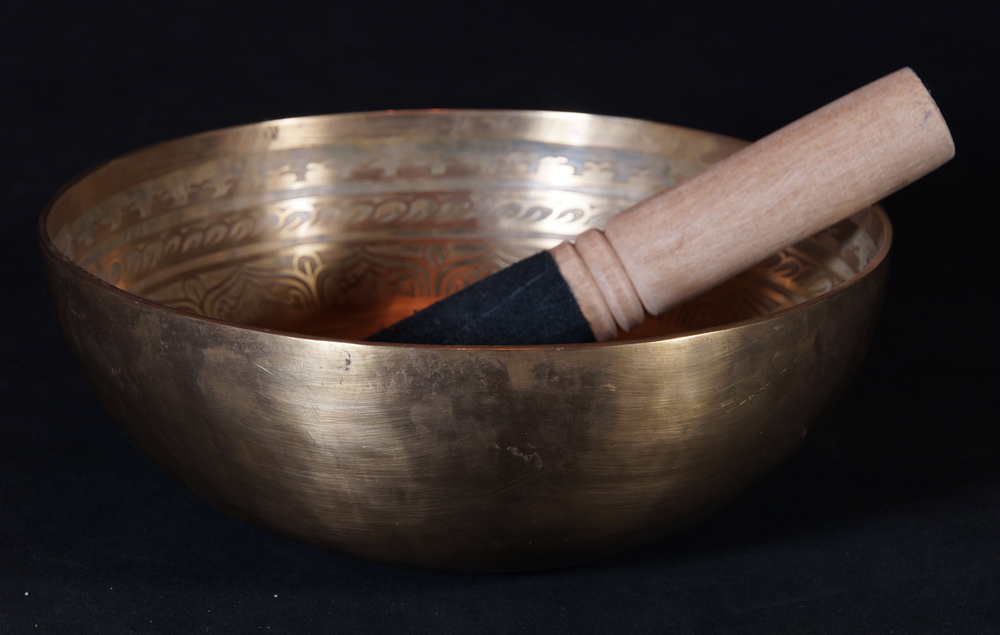 Newly made Nepali Singing Bowl from Nepal made from Bronze