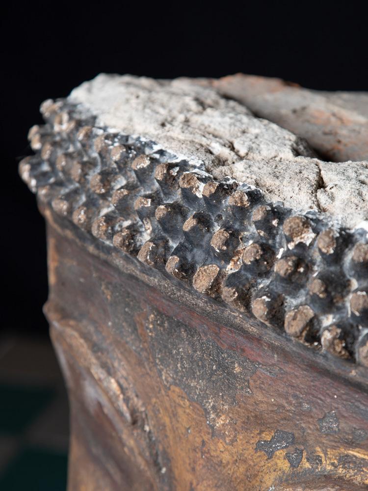 Antiek stucco Boeddhahoofd