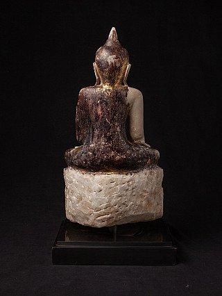 Antike marmor Ava Buddha Figur