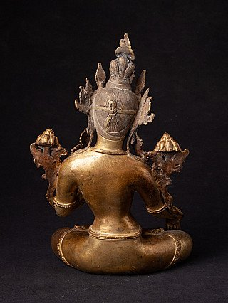 Old Nepali White Tara statue
