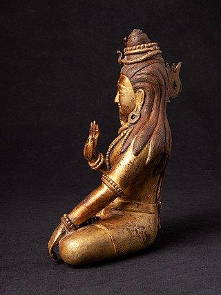 Old Nepali bronze Shiva statue