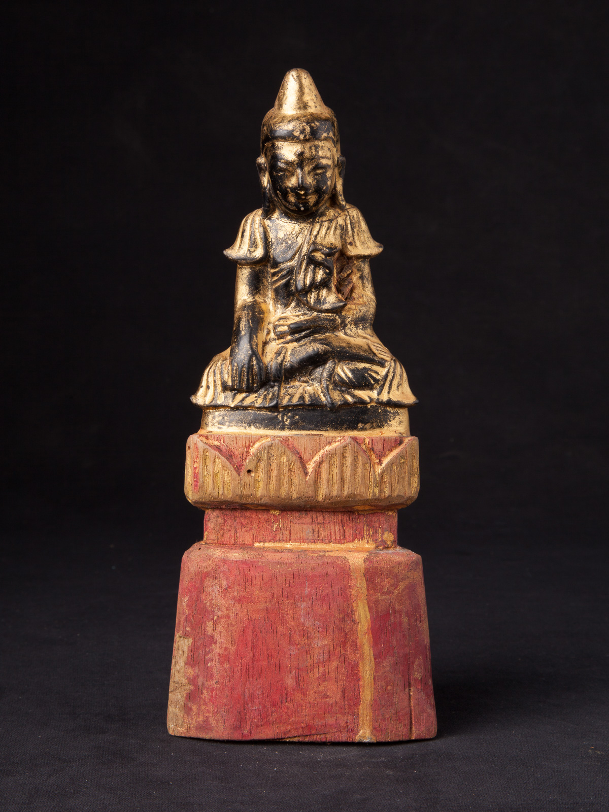 Antique Burmese Shan Buddha statue from Burma