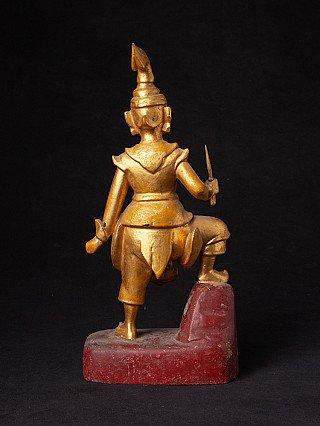 Antique Burmese Nat statue