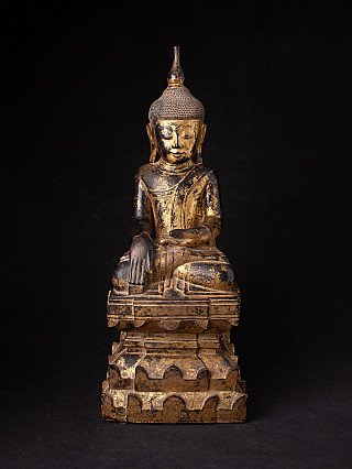 Very nice antique Shan Buddha statue