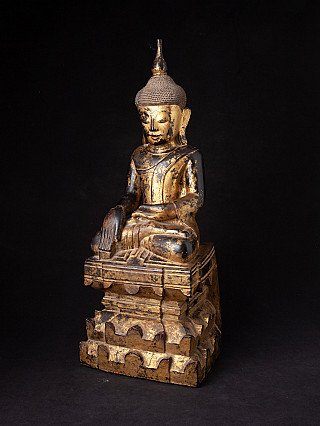 Very nice antique Shan Buddha statue