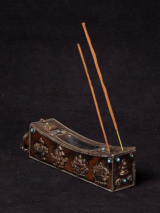 Old Copper Incense Holder