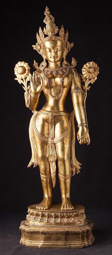Large old Nepali Tara statue