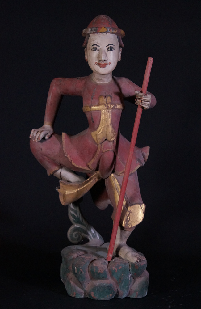 Antique Burmese Zaw-Gyi Nat from Burma