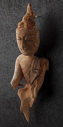 Antiek Birmees Boeddhahoofd