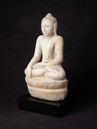 Antike marmor Buddha Figur