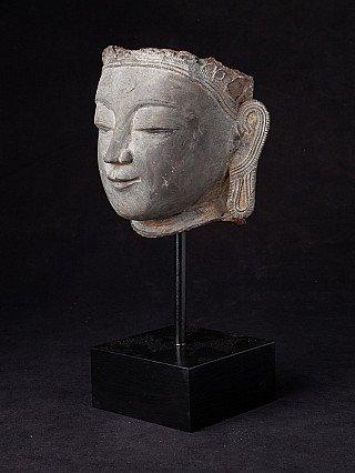 Antique Burmese Buddha head