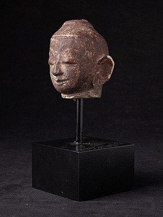 Antike Sandstein Buddha Kopfe