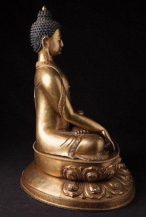 Highest quality Nepali bronze Buddha statue