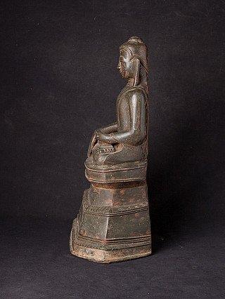 Bijzonder antiek bronzen Shan Boeddhabeeld