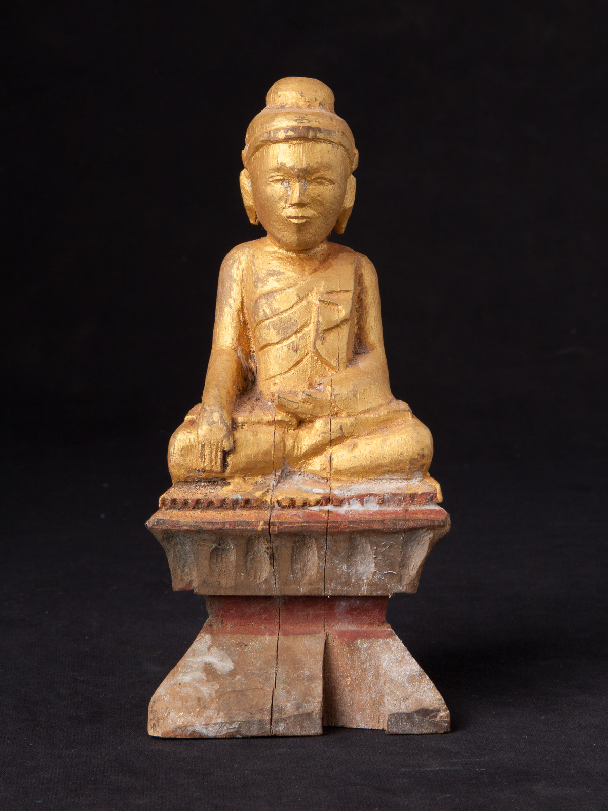 Antique Burmese Buddha statue from Burma