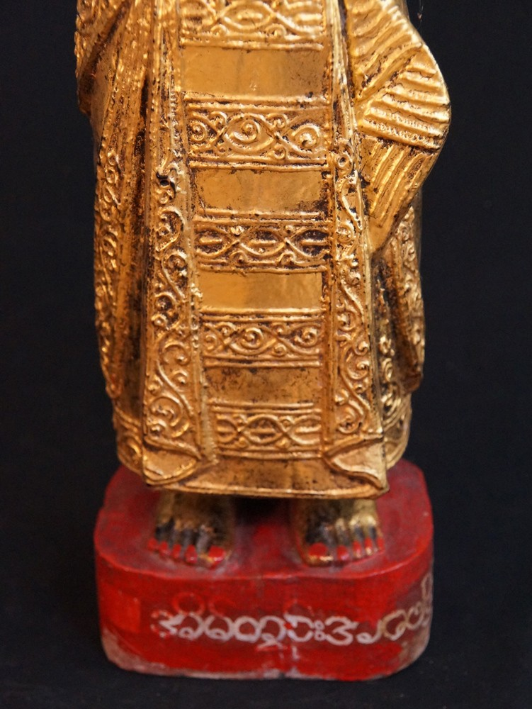 Antique Burmese Nat - Spirit from Burma made from Wood