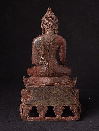 Origineel bronzen Bagan Boeddhabeeld