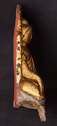 Antique Burmese Buddha amulet