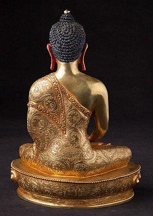 Newly made Nepali Buddha statue