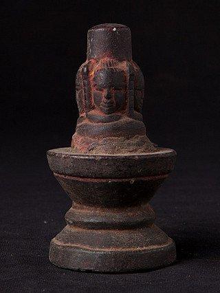 Antique stone Shiva Lingam