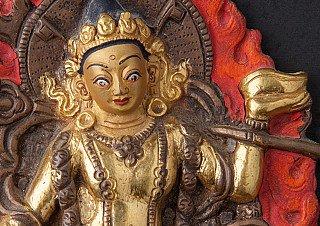 Old bronze Vajra Yogini statue