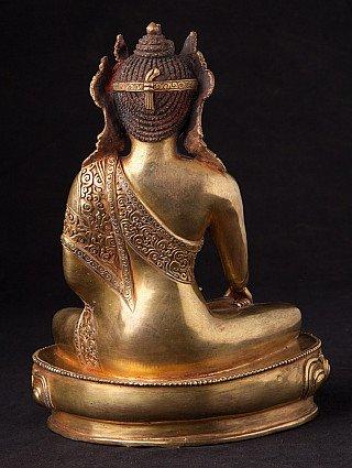 Oude Nepalese gekroonde Boeddha