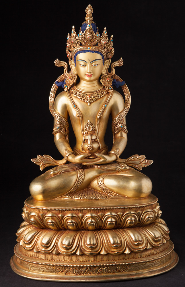 High quality Nepali bronze Buddha statue from Nepal