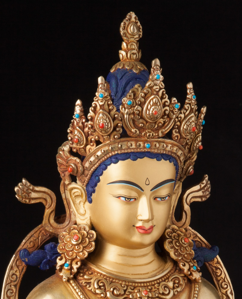 High quality Nepali bronze Buddha statue from Nepal made from Bronze