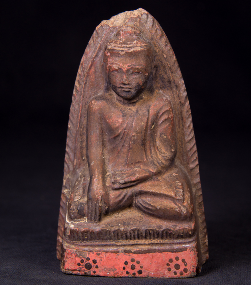 Antique Buddha Amulet from Burma