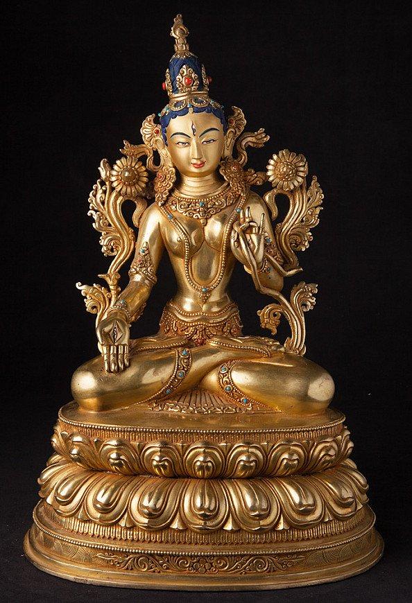 Nepali bronze Tara statue