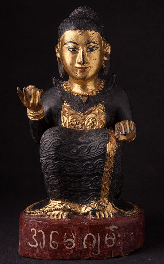Antique Burmese Nat statue