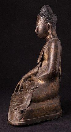 Antique bronze Buddha