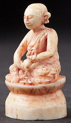 Antique Ivory Monk statue