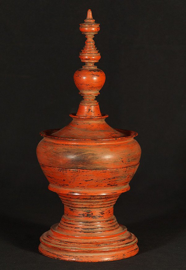 Old Burmese offering vessel