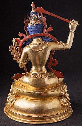 Bronze Nepali Manjushri statue