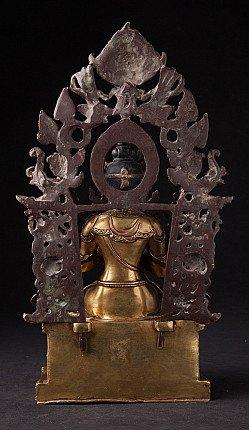 Old Nepali Maitreya Buddha statue