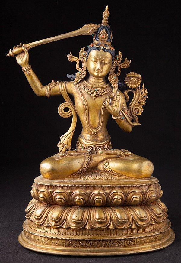 Nepalees Manjushree beeld