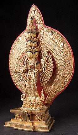Bronze Avalokiteshvara statue