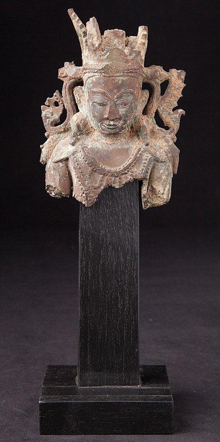 Antique Buddha head from Arakan Buddha