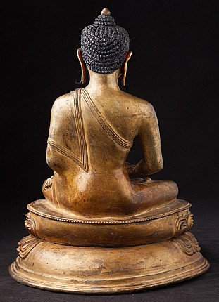 Alte Nepalesische Buddha Figur
