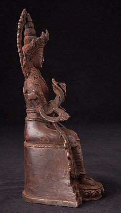 Nepali bronze Maitreya Buddha statue