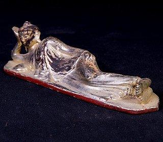 Antique reclining Buddha statue
