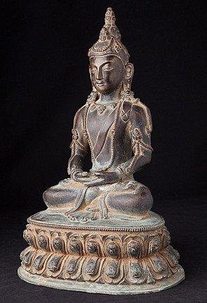 Alte bronze Aparmita Buddha Figur