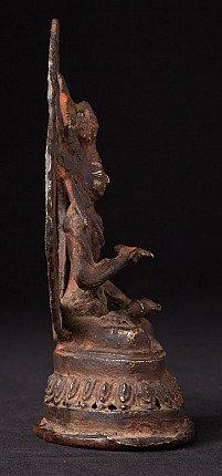 Antique bronze Vajrasattva statue