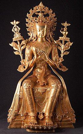 Special large bronze Maitreya Buddha statue