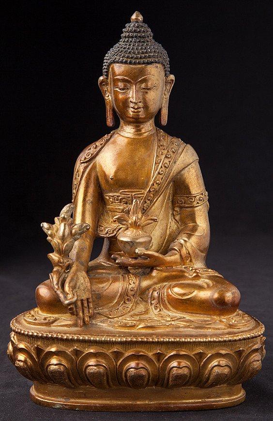 Old Nepali Medicine Buddha statue