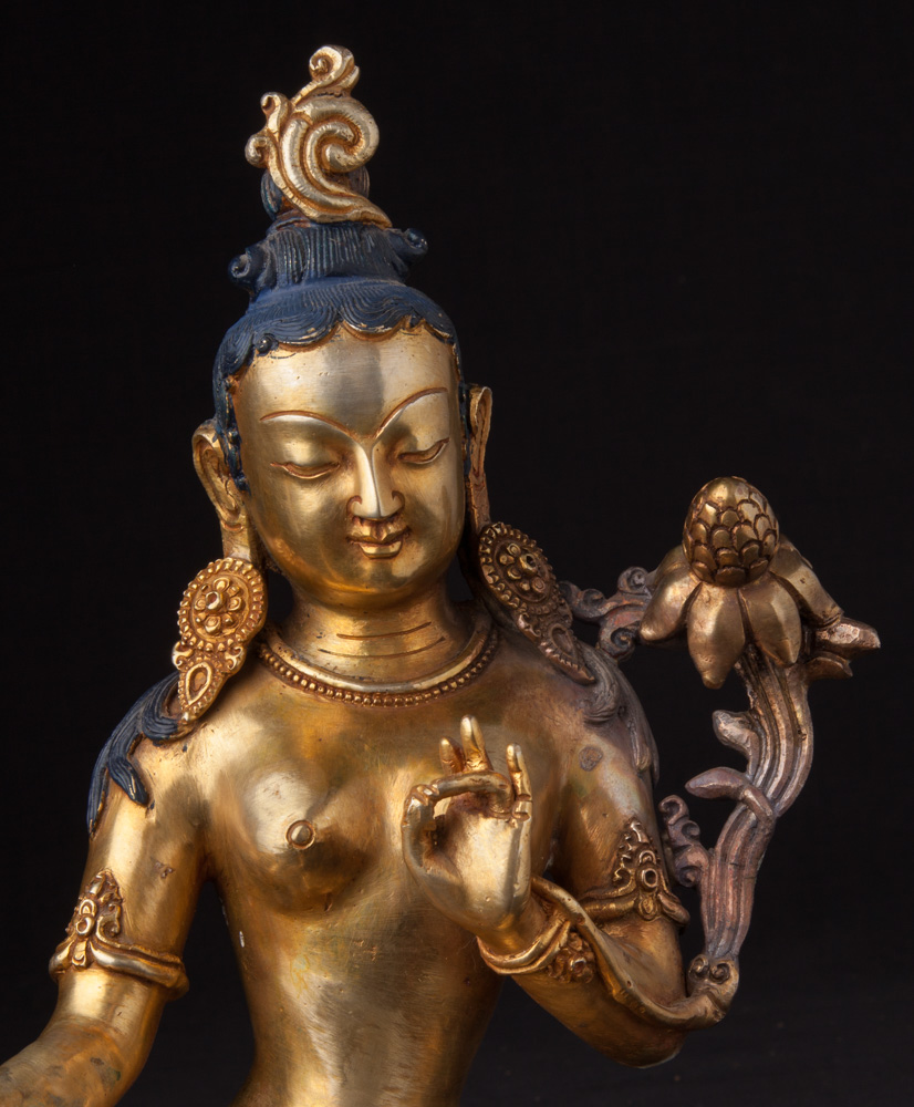 High quality Nepali Tara statue from Nepal made from Bronze
