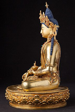 Newly made bronze Medicine Buddha statue