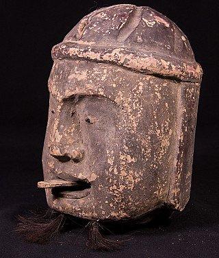 Alte Birmanische Kopf von Marionette Puppe